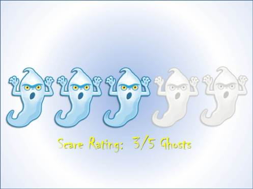 Scare Rating:  3/5 Ghosts