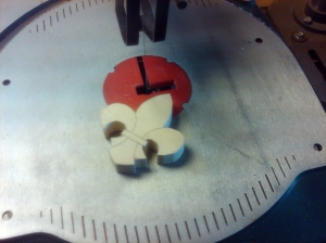 Step 3 Cut Blank